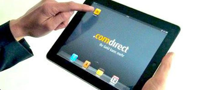 Comdirect Bank: Messemarketing per iPad-Anwendung