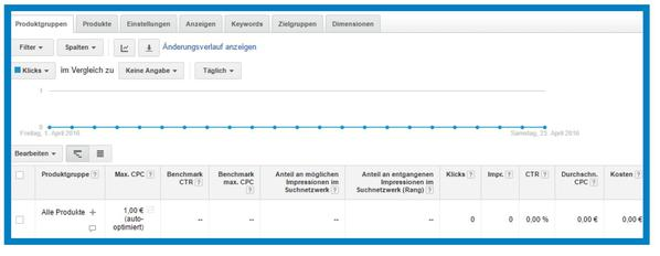 Google Shopping Anzeigengruppe (Bild: Trusted Shops)