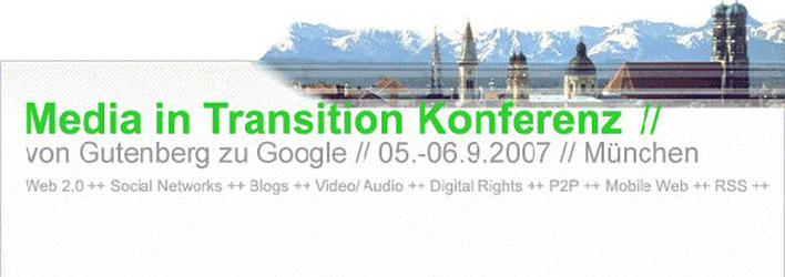 iBusiness-Rabatt zur internationalen Konferenz 'Media in Transition'