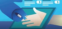 Von Mensch zu Mensch: Auch hinter kostenlosen Kleinanzeigen kann ein lukratives Geschäft stecken - wie Facebook Marketplace beweist.