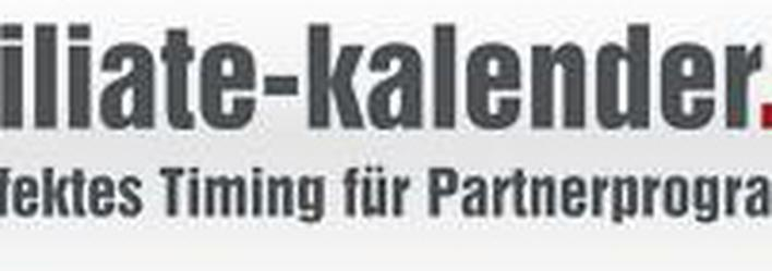 Affiliate-Kalender.de optimiert Timing für Partnerprogramme