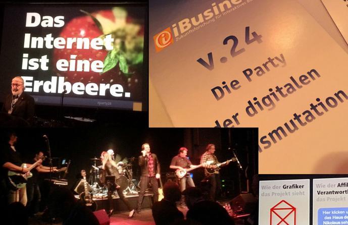 ibusiness party24 das internet ist eine erdbeere auf dem highway to hell. Black Bedroom Furniture Sets. Home Design Ideas
