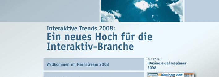 iBusiness Executive Summary 23/2007 ist online