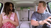 James Corden mit Michelle Obama beim Carpool Karaoke (Bild: Screenshot: iBusiness)