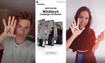 TikTok-Kampagne von Samsung mit Influencern Falco Punch und Selina Mour