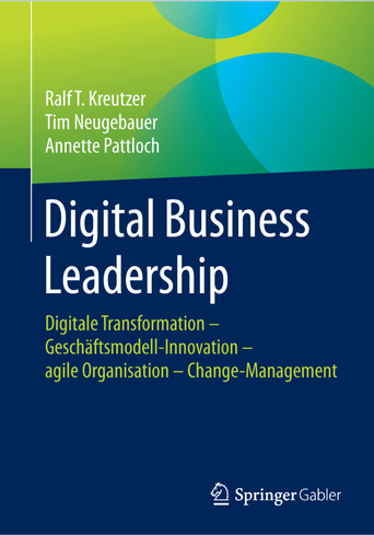 Digital Business Leadership - Buchtitel (Bild: SpringerGabler)