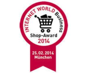 Details zum Award 'Internet World Business Shop-Award'